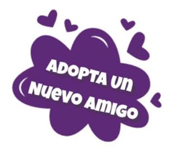Logo de Adopta un nuevo amigo